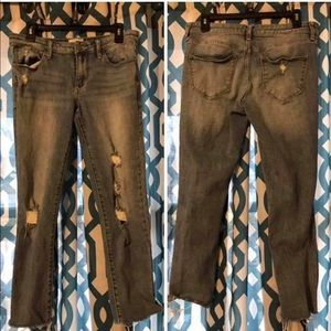 Denim - Gilded intent crop jeans sz 29